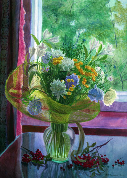Купить картину Вечер 2 2 Картины художника Макеев